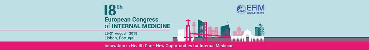 ECIM 2019 – 18th European Congress of Internal Medicine